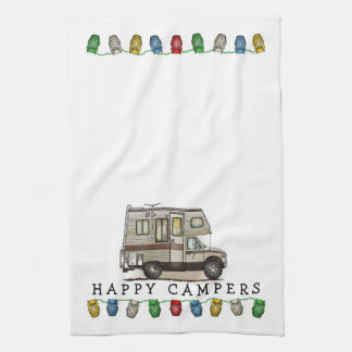 ClassC Camper RV Magnets Kitchen Towel