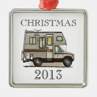 ClassC Camper RV Magnets Metal Ornament