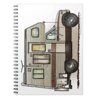 ClassC Camper RV Magnets Notebooks