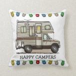 ClassC Camper RV Magnets Pillow