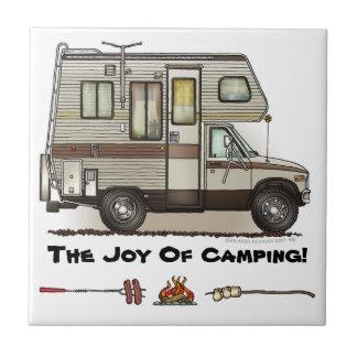 ClassC Camper RV Magnets Tiles