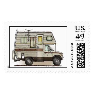ClassC Camper RV Postage