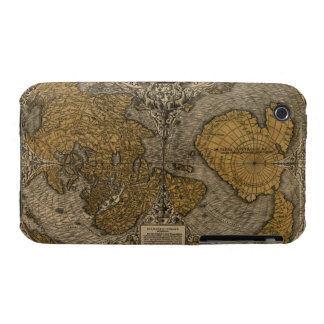 Classic 1531 Antique World Map by Oronce Fine iPhone 3 Case-Mate Case