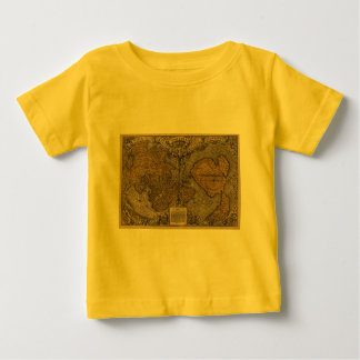 Classic 1531 Antique World Map by Oronce Fine Tee Shirt