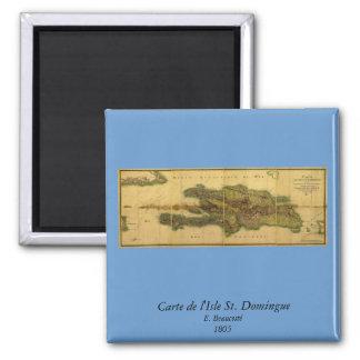 Classic 1805 Antiquarian Map of Hispaniola Magnet