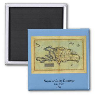 Classic 1823 Antiquarian Map of Hispaniola & Haiti Magnet