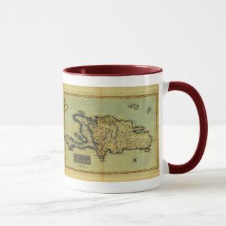 Classic 1823 Antiquarian Map of Hispaniola & Haiti Mug