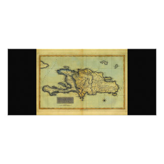 Classic 1823 Antiquarian Map of Hispaniola & Haiti Rack Card