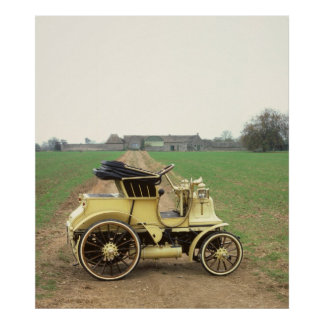 Classic 1897 Daimler Phaeton Poster