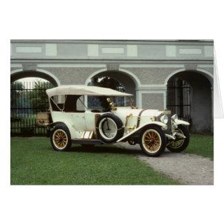 Classic 1913 Mercedes Phaeton Card