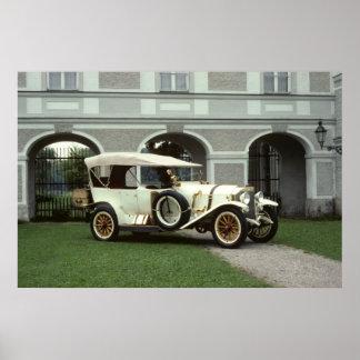 Classic 1913 Mercedes Phaeton Print