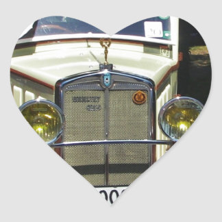 Classic 1928 Berliet. Heart Sticker