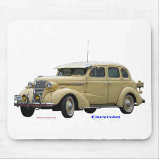 Classic_1938_Chevrolet_Textured Mouse Pad