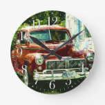 Classic 1947 Car Collector Wall Clock