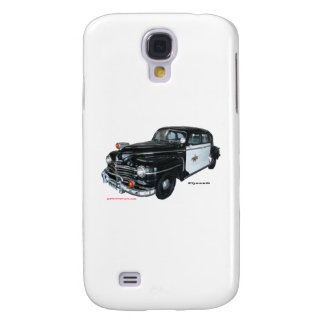 Classic_1947_Plymouth_Police_Car_Texturized Samsung Galaxy S4 Case