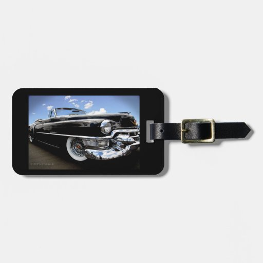 Classic 1950 Caddy Bold Color Travel Bag Tag