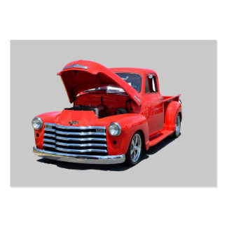 Classic 1950's Chevrolet Pickup Truck Large Business Cards (Pack Of 100)