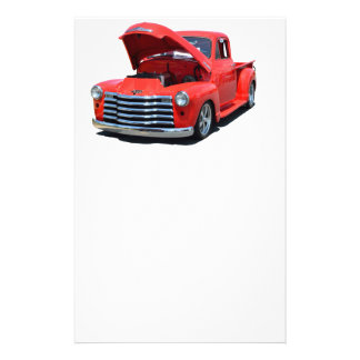 Classic 1950's Chevrolet Pickup Truck Flyer