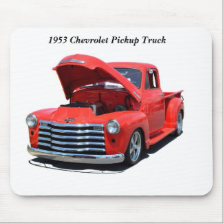 Classic 1950's Chevrolet Pickup Truck Mouse Pad