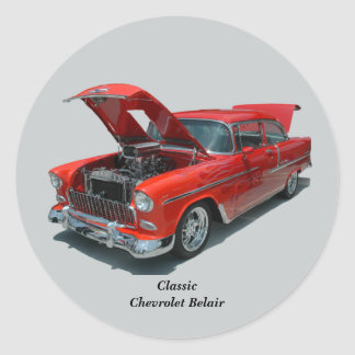 Classic 1950's Era Chevrolet Belair sticker