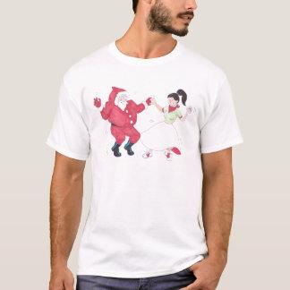 Classic 1950s Jive Dancing Christmas T-Shirt