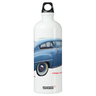 Classic_1951_Plymouth_Concord_Texturized Aluminum Water Bottle