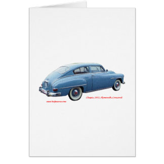 Classic_1951_Plymouth_Concord_Texturized Card