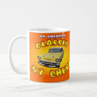 Classic 1957 Chevy Car Mug. Coffee Mug