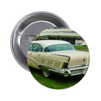Classic 1958 Buick Limited. Pinback Button