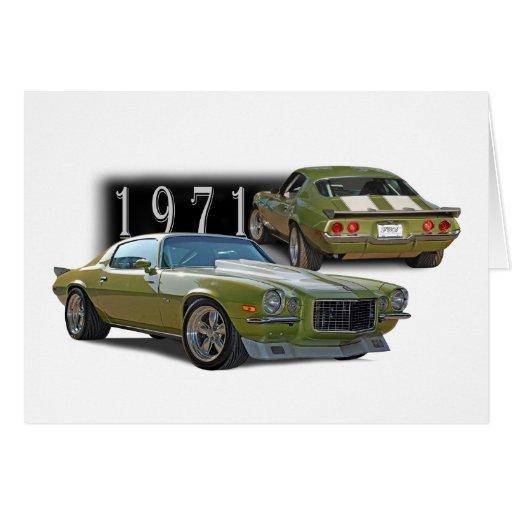 Classic 1971 card