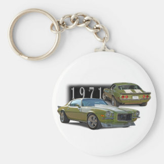 Classic 1971 keychain