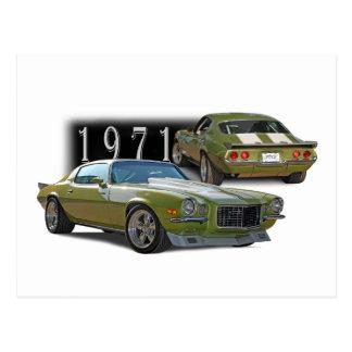 Classic 1971 postcard