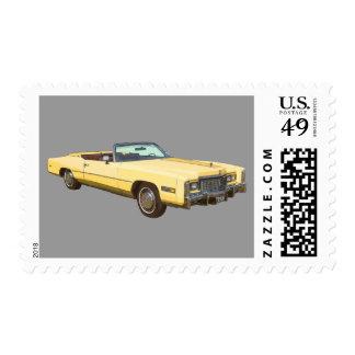 Classic 1975 Cadillac Eldorado Convertible Stamps