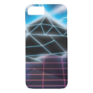 Classic 1980s Futuristic Neon Pattern iPhone 7 Case