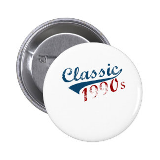 "Classic, ""1990's"" 20's Birthdays design Button"