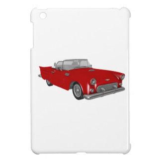 Classic 50s Red Cherry Bomb Car iPad Mini Covers