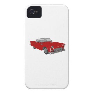 Classic 50s Red Cherry Bomb Car iPhone 4 Case-Mate Case