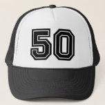 "Classic 50th Birthday Trucker Hat<br><div class=""desc"">50th Birthday Trucker Hat</div>"