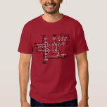 Classic 555 Timer Chip Schematic Circuit Tee Shirt
