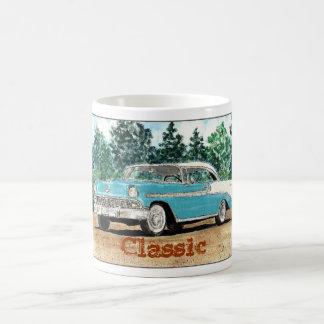 """""""Classic"""" 56 Chevy Classic White Coffee Mug"""