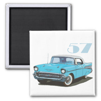 Classic 57 2 inch square magnet