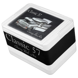 Classic 57 Bel Air Igloo Drink Cooler