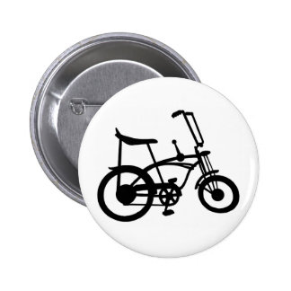 CLASSIC 60'S BIKE BICYLE SCHWINN STINGRAY BIKE PINBACK BUTTON