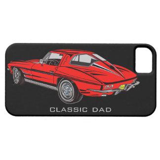 Classic 63 Red Corvette iPhone 5 Tough Case Mate