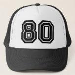 "Classic 80th Birthday Trucker Hat<br><div class=""desc"">80th Birthday Party Hat</div>"