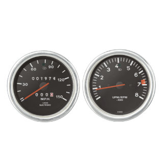 Classic 911 speedometer (old air-cooled car) cufflinks