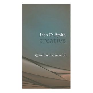 Classic Abstraction Double-Sided Standard Business Cards (Pack Of 100)