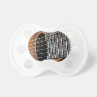 Classic Acoustic Guitar Baby Pacifiers