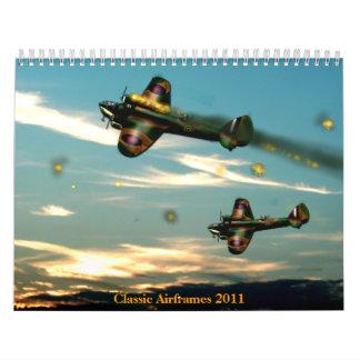 Classic Airframes 2011 Calendar