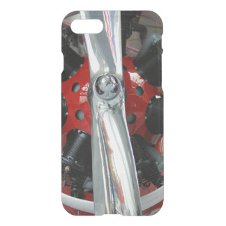 Classic Airplane Propeller and Radial Engine iPhone 7 Case